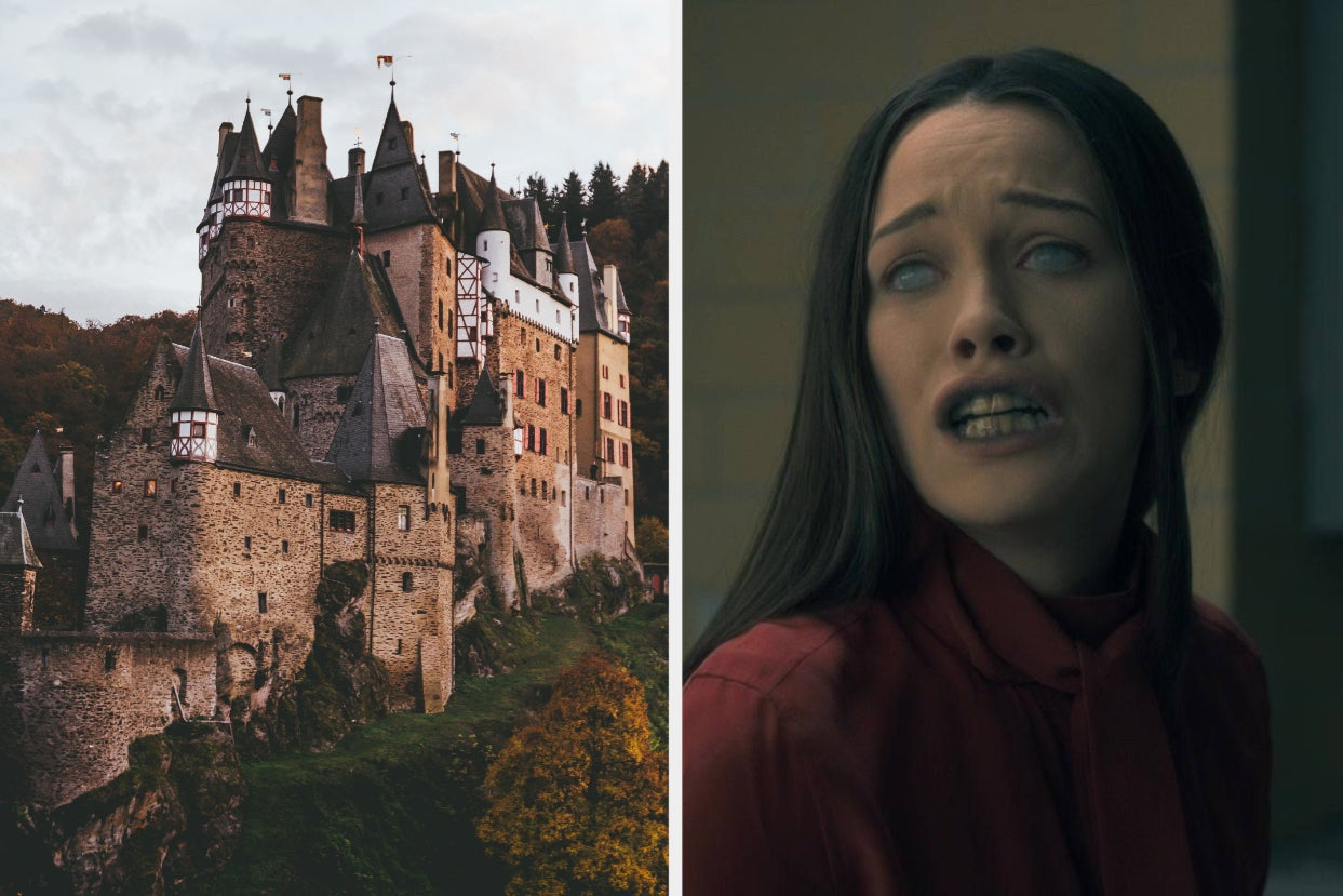 Explore An Abandoned Castle And We'll Reveal The Ghost Who Haunts It
