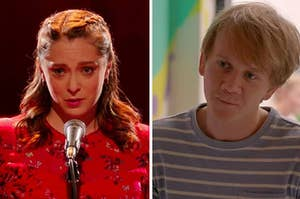 Side by side stills of Crazy Ex Girlfriend and Please Like Me