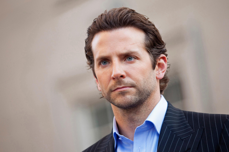 Bradley Cooper as Eddie looking serious