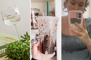 cat face shaped watering globe for houseplant, iced coffee Disney tumbler, OG Nokia phone shaped case