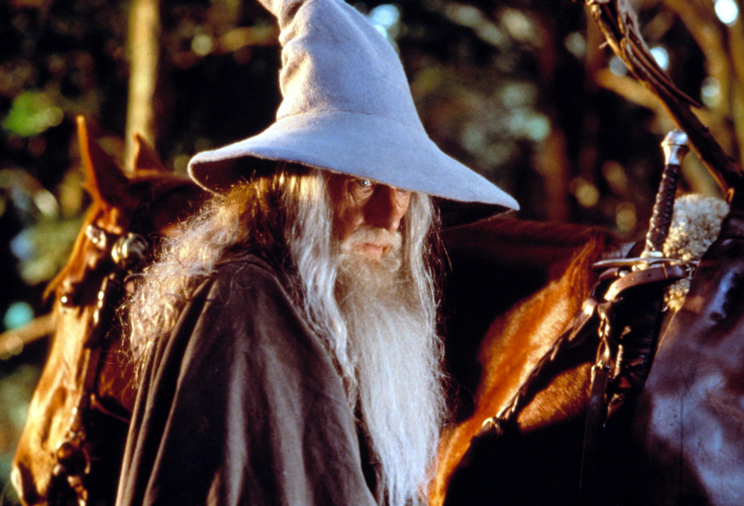 Ian McKellen as Gandalf