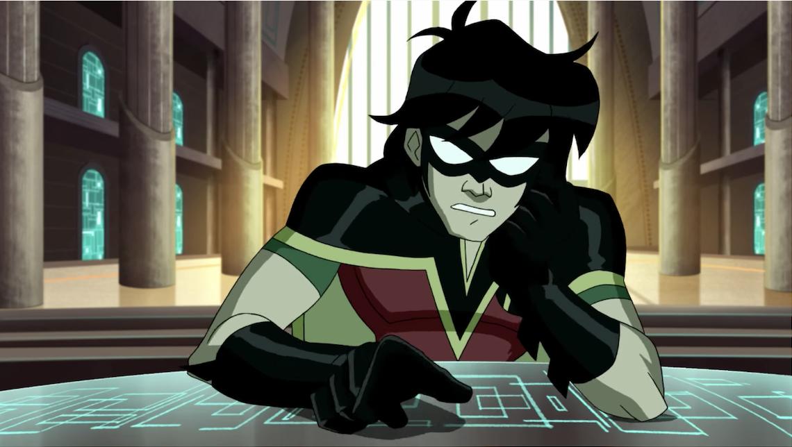 Robin in the movie