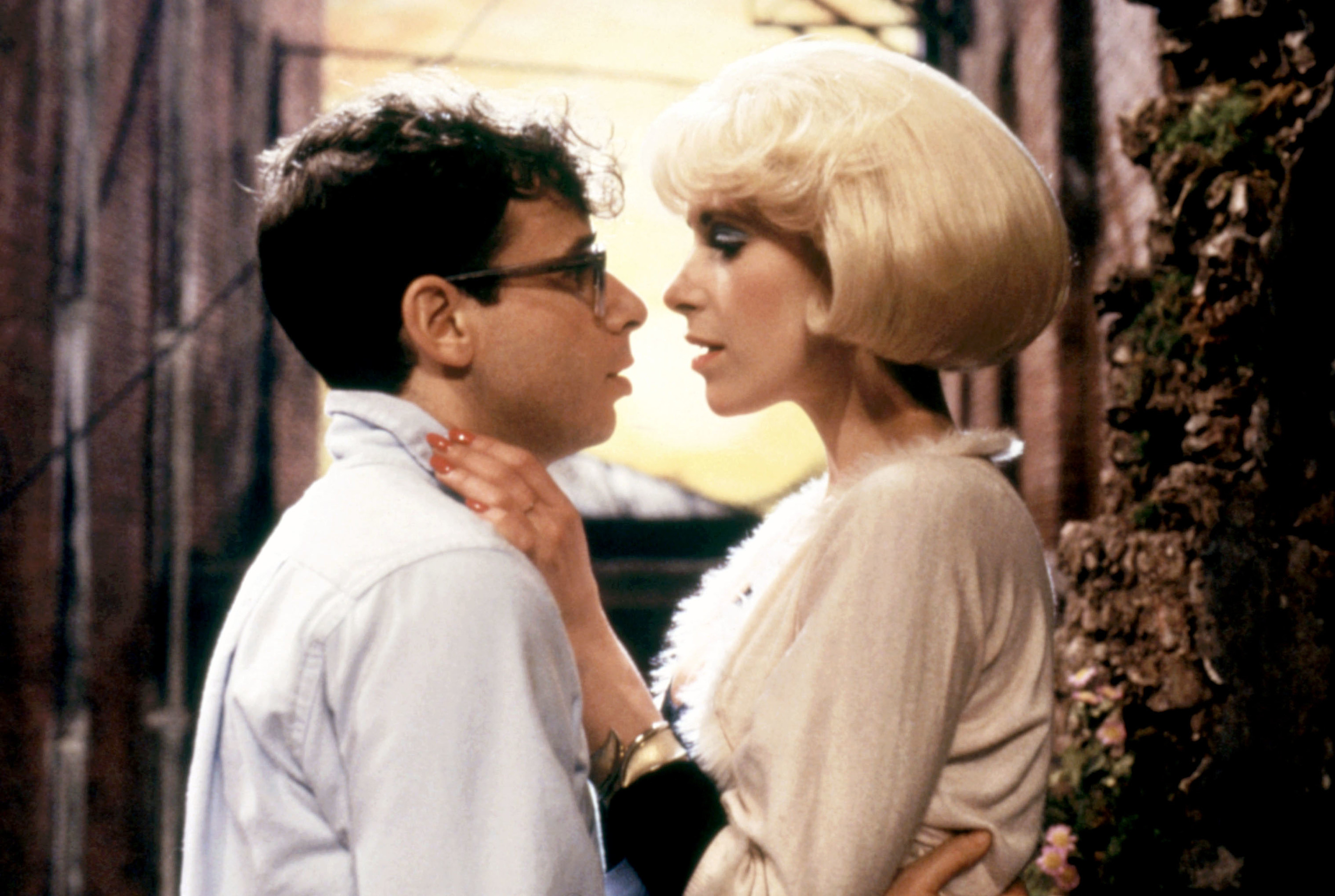 The original Audrey and Seymour in the film