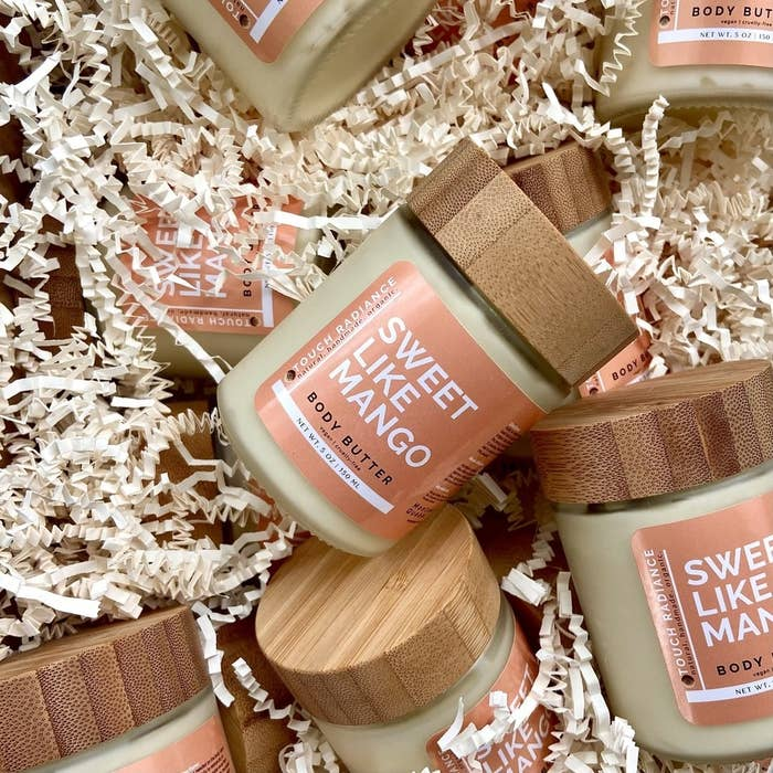 the jars of body butter