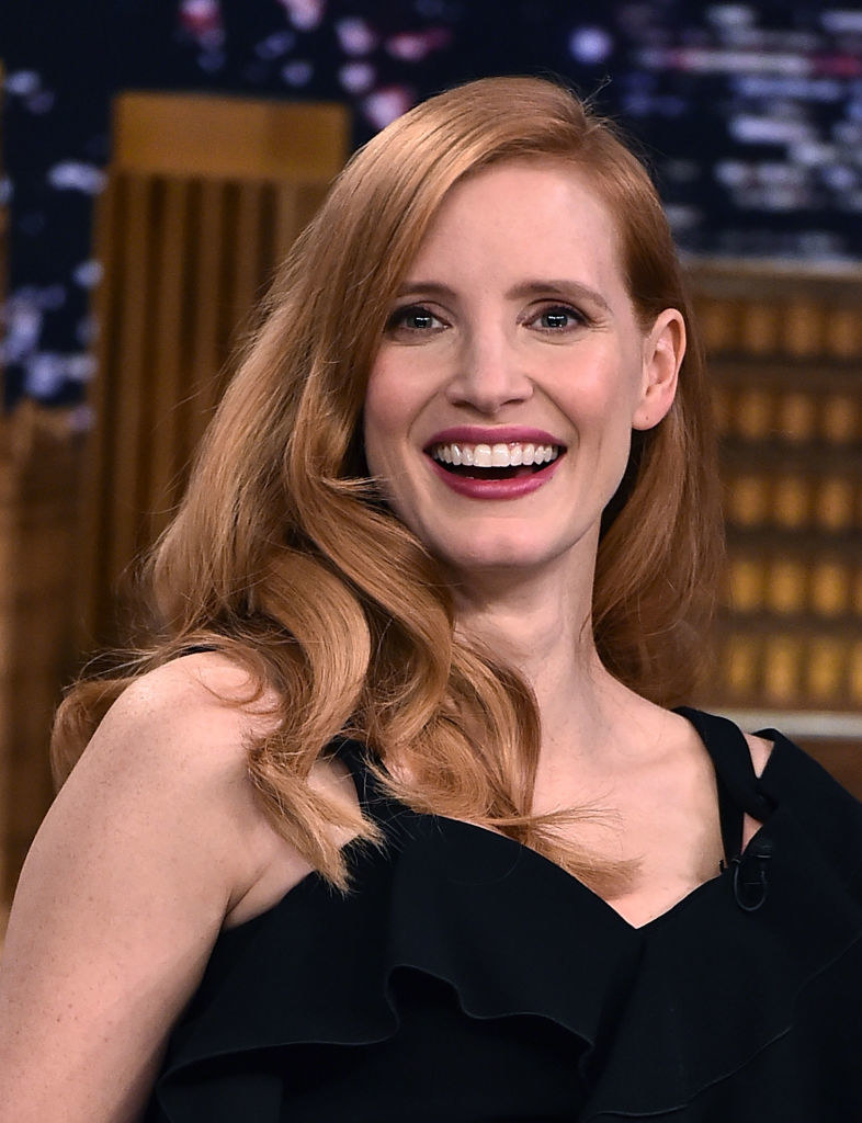 """Jessica Chastain visits """"The Tonight Show Starring Jimmy Fallon"""""""
