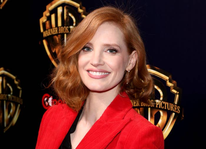 """Jessica Chastain attends Warner Bros. Pictures """"The Big Picture"""" exclusive presentation"""