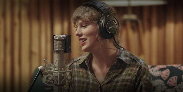 Taylor Swift in Folklore on Disney+