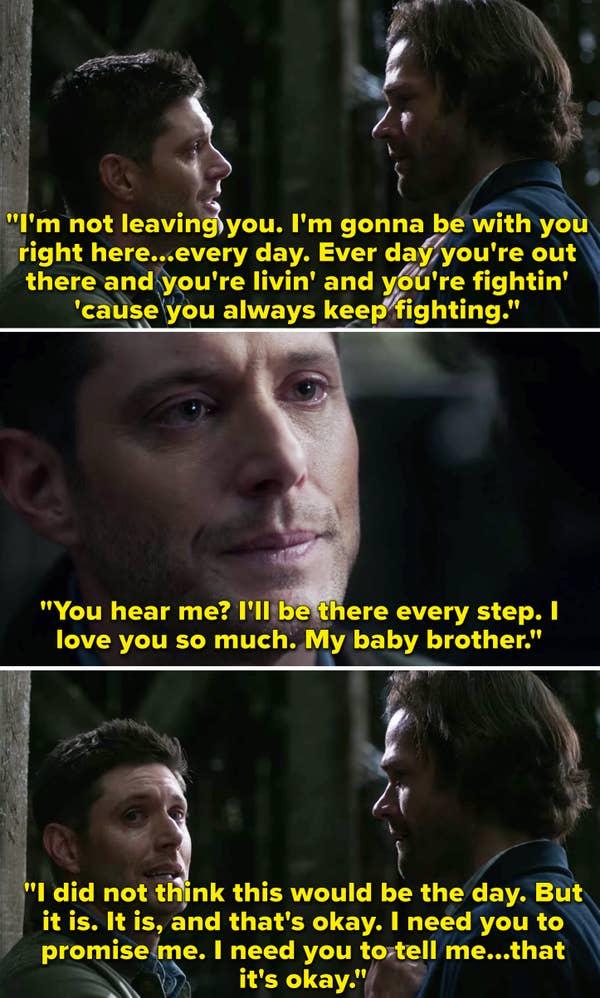 Dean Winchester in Supernatural