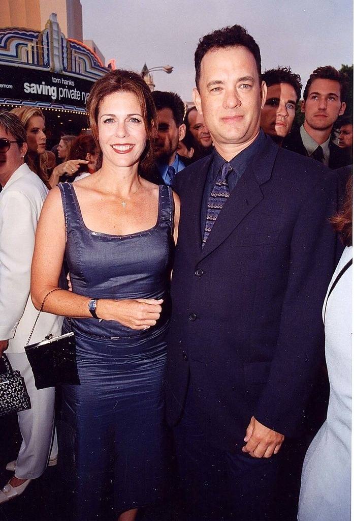 at the saving private ryan premiere