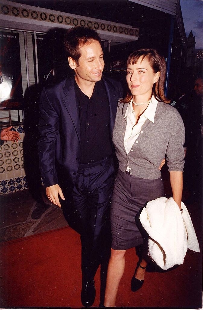 at the x files premiere