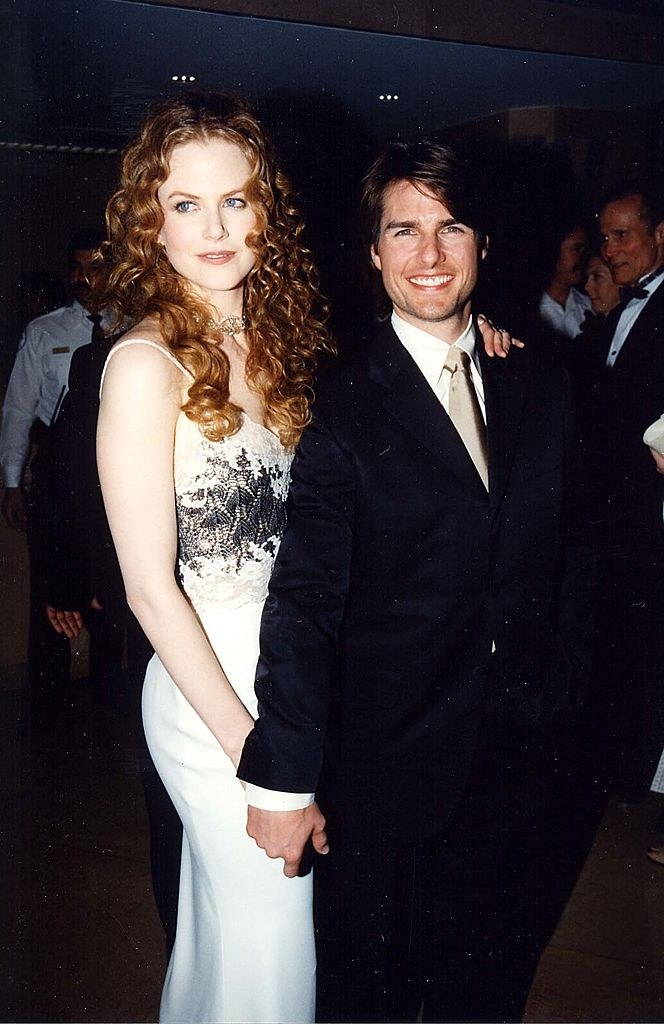 at a tom cruise event