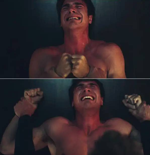 Nate screaming and crying