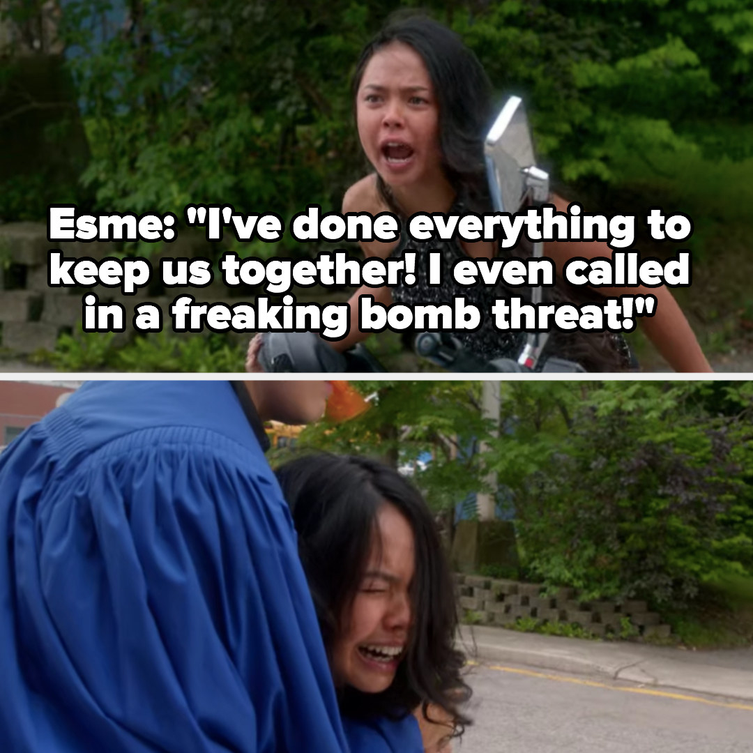 """Esme says she's done """"everything"""" to keep her and Zig together and that she even called in a bomb threat"""
