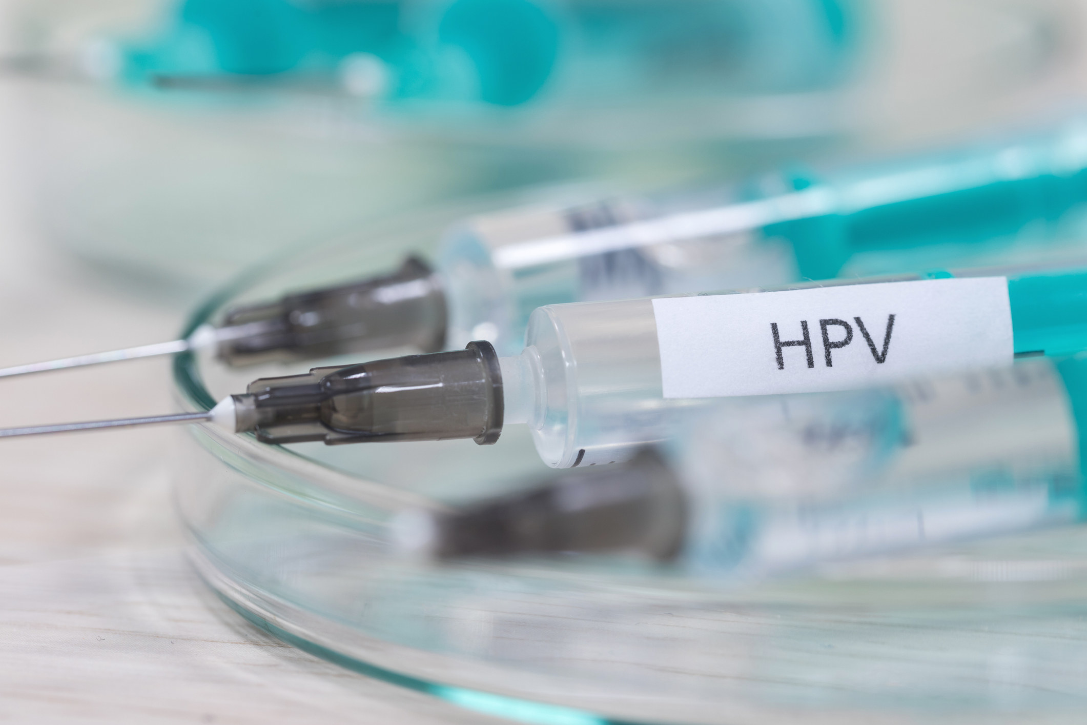 An image of the HPV vaccine