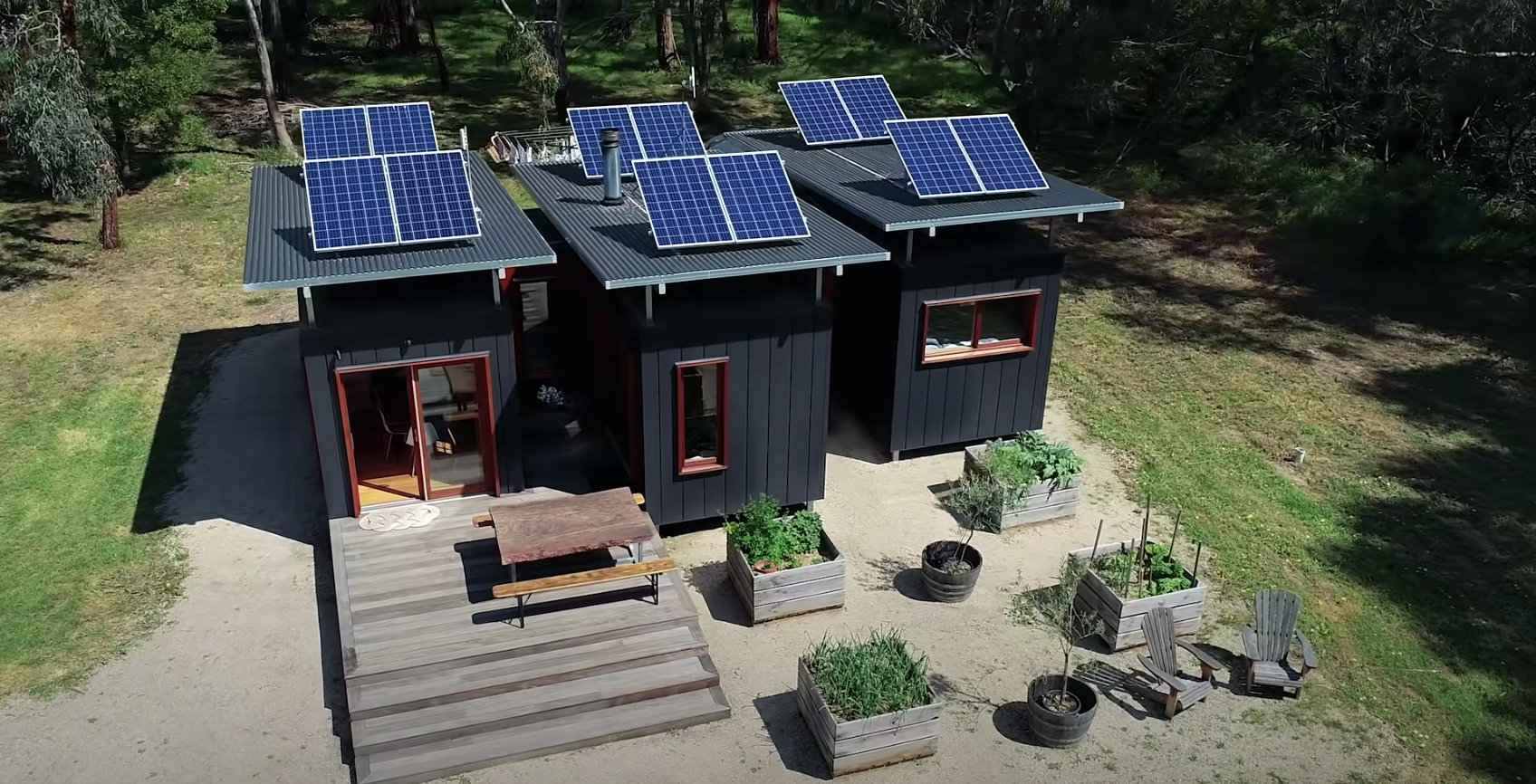The home is truly transformed; looks nothing like an ordinary shipping container