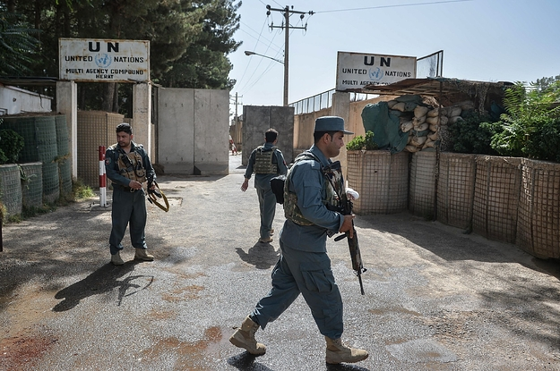 Foreign UN Staffers Are Evacuating Afghanistan. Local Staffers Say They Have Been Left Behind.