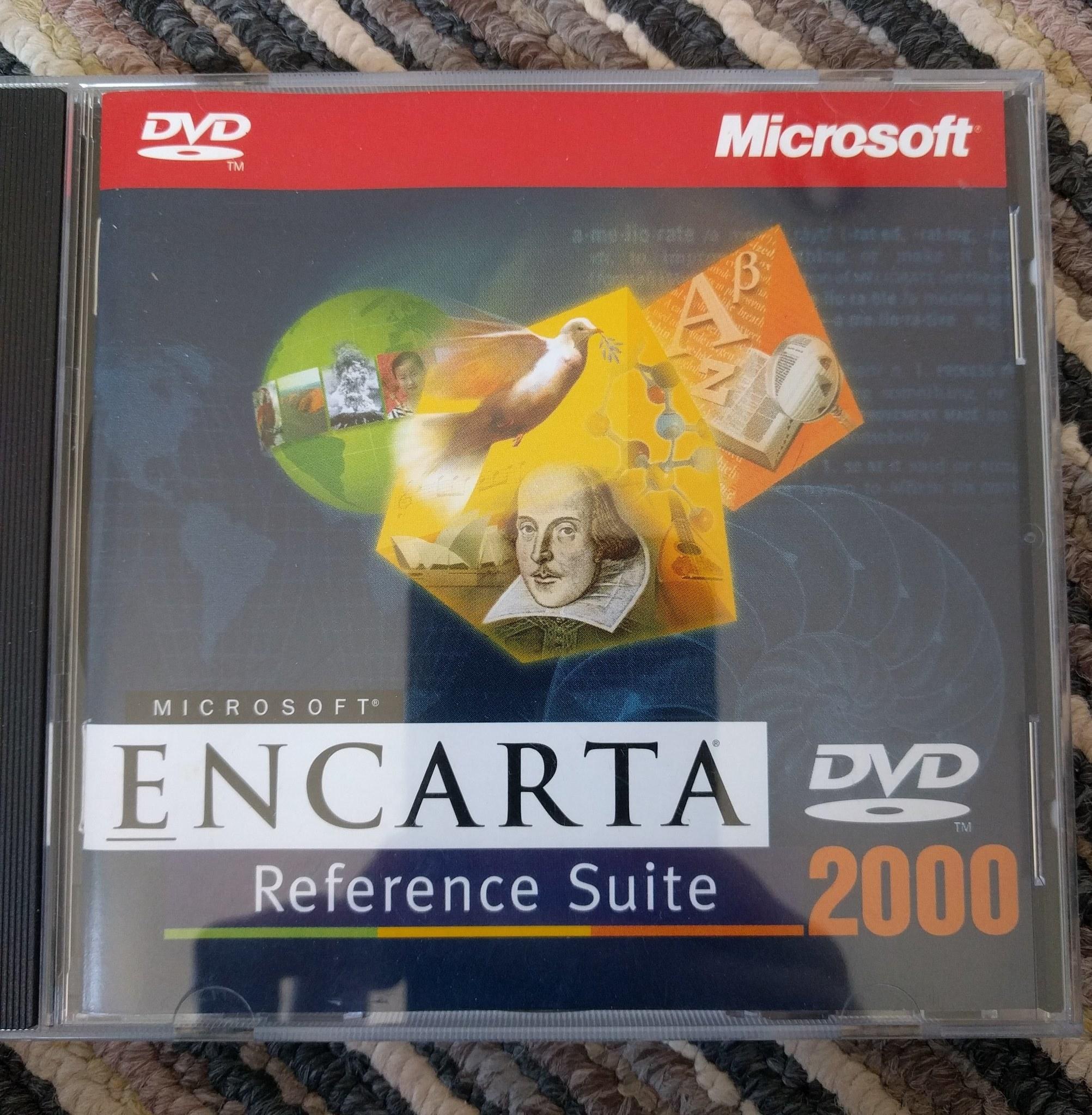 Microsoft Encarta 2000 DVD