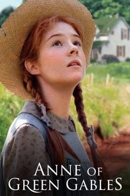 """A book cover of """"Anne of Green Gables"""""""