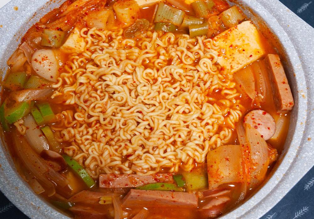 Korean Budae-Jjigae.