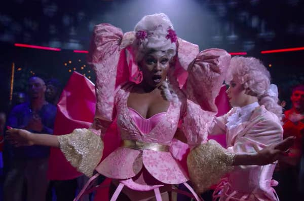 26. The wardrobe department created Elektra's Marie Antoinette costume in Season 2 to be unlike anything we'd ever seen on TV.