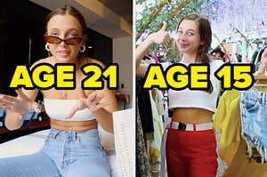age 21 and age 15 thrifters