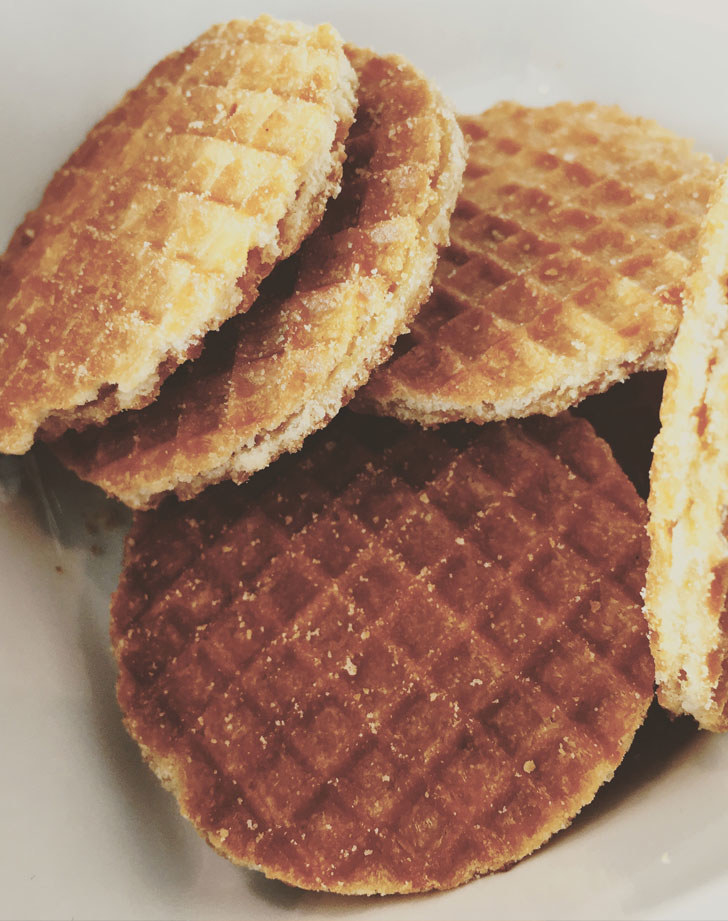 Stroopwafels from the Netherlands.