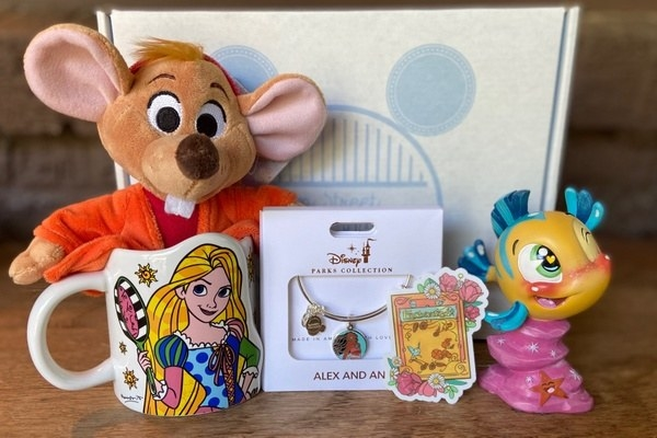 an array of disney products