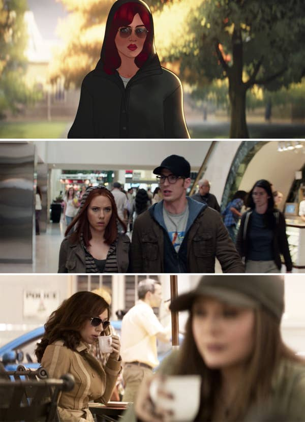 Parallels between What If...? and the movies