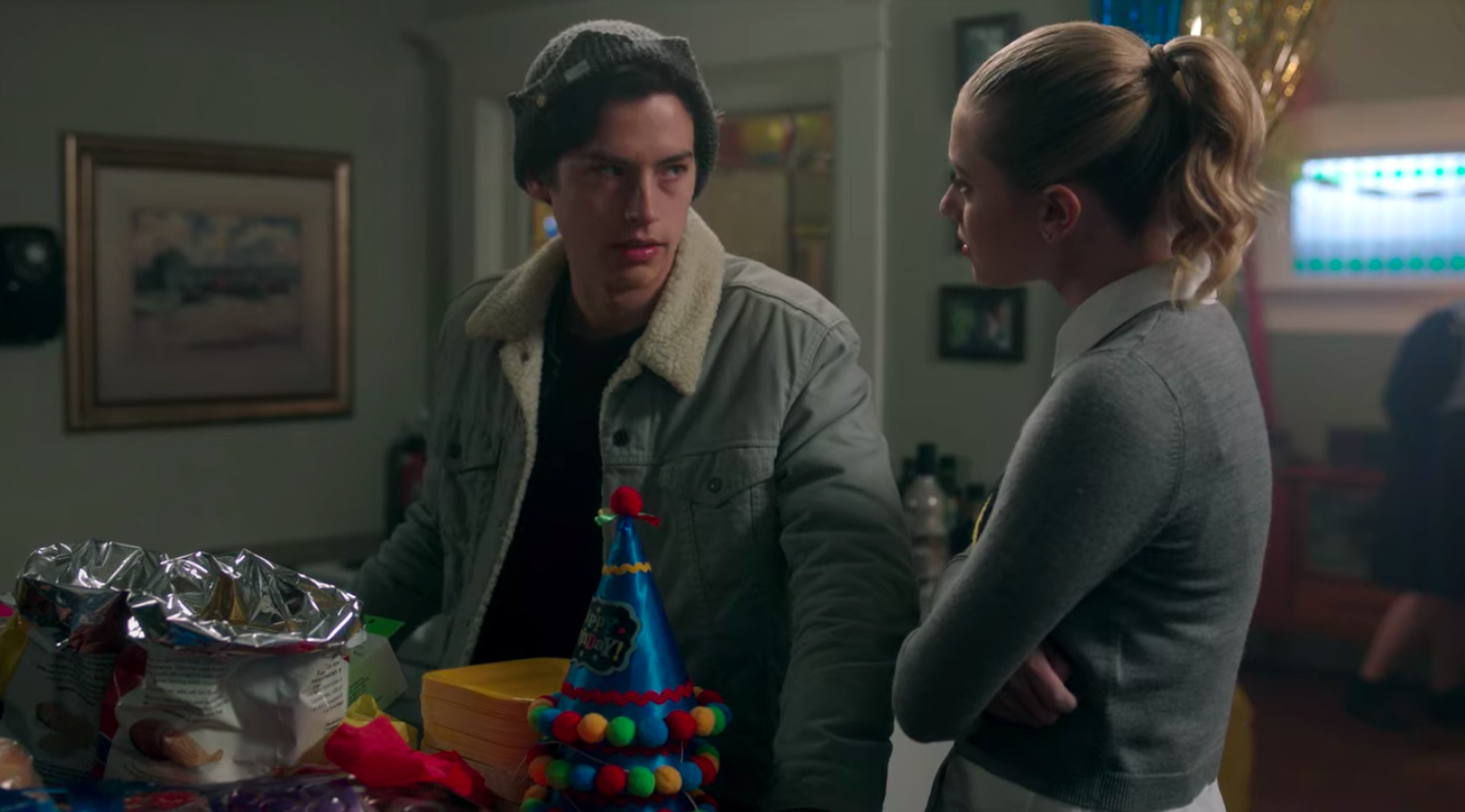 Betty and Jughead for his birthday party