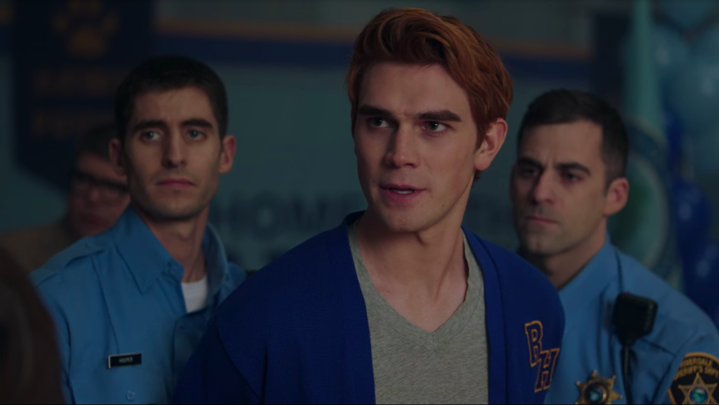 Archie is arrested for murder