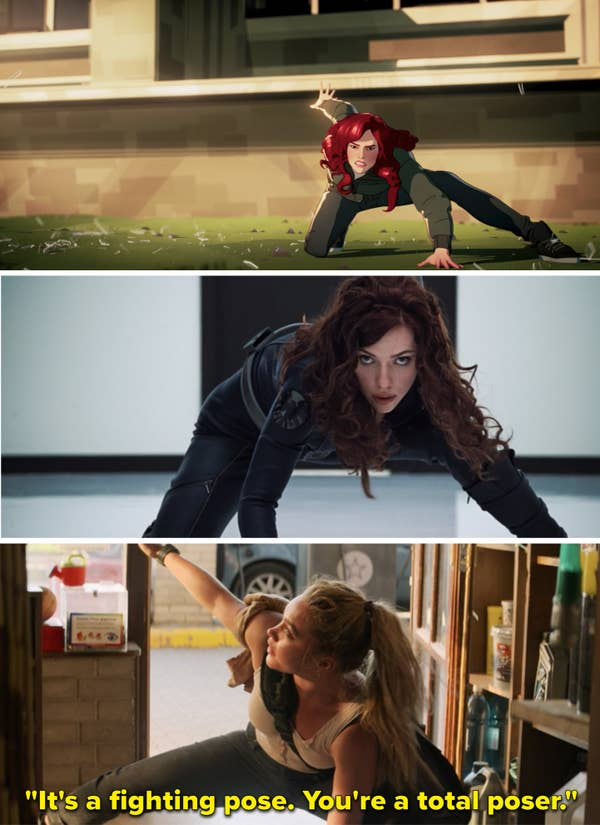 Parallels from Black Widow
