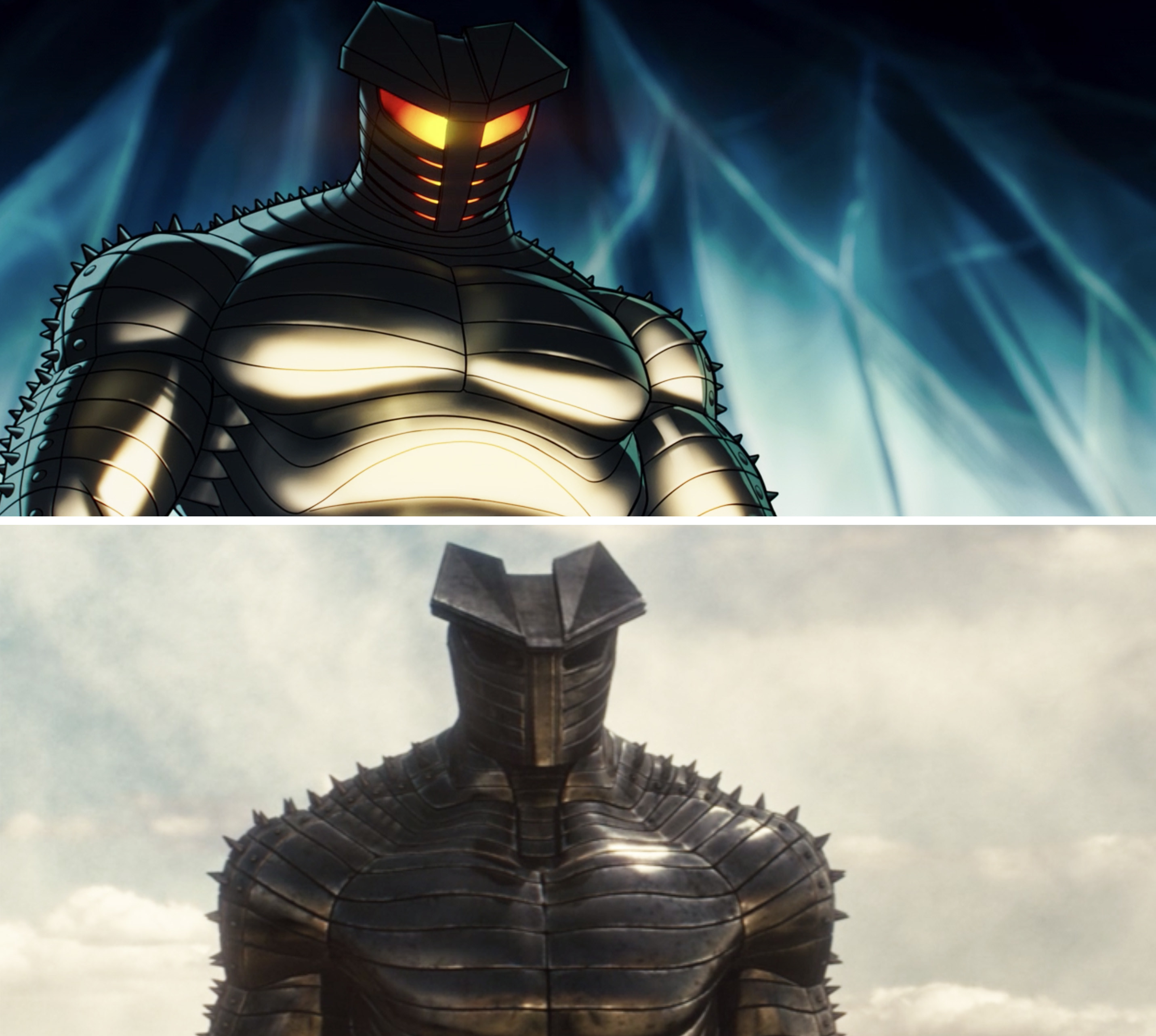 The Destroyer in What If vs in Thor