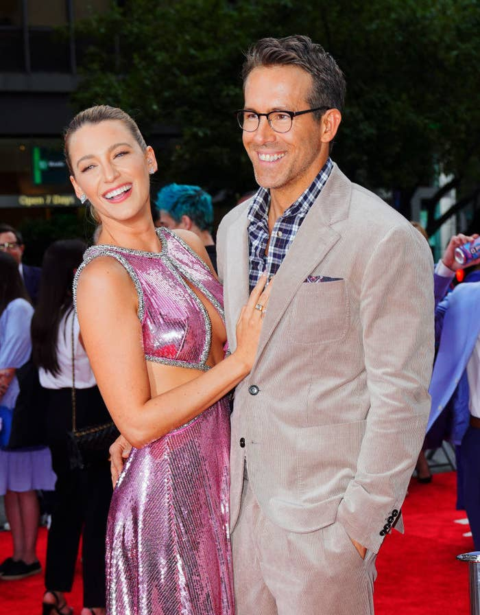 Blake Lively and Ryan Reynolds at 'Free Guy' Premiere