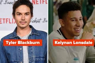 Tyler Blackburn and Keiynan Lonsdale