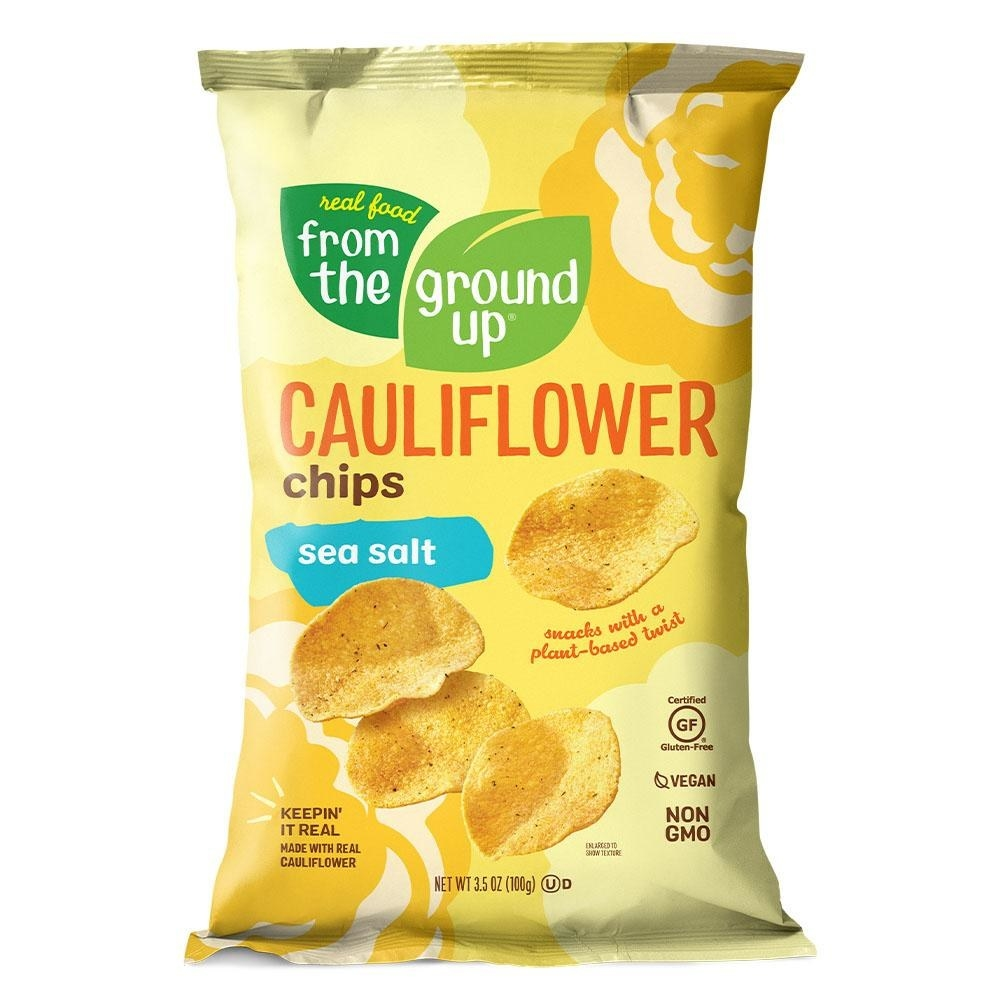 A yellow bag of chips