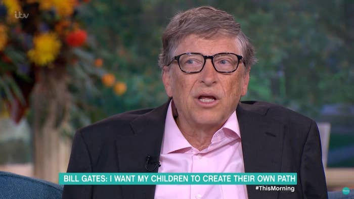 A man speaking