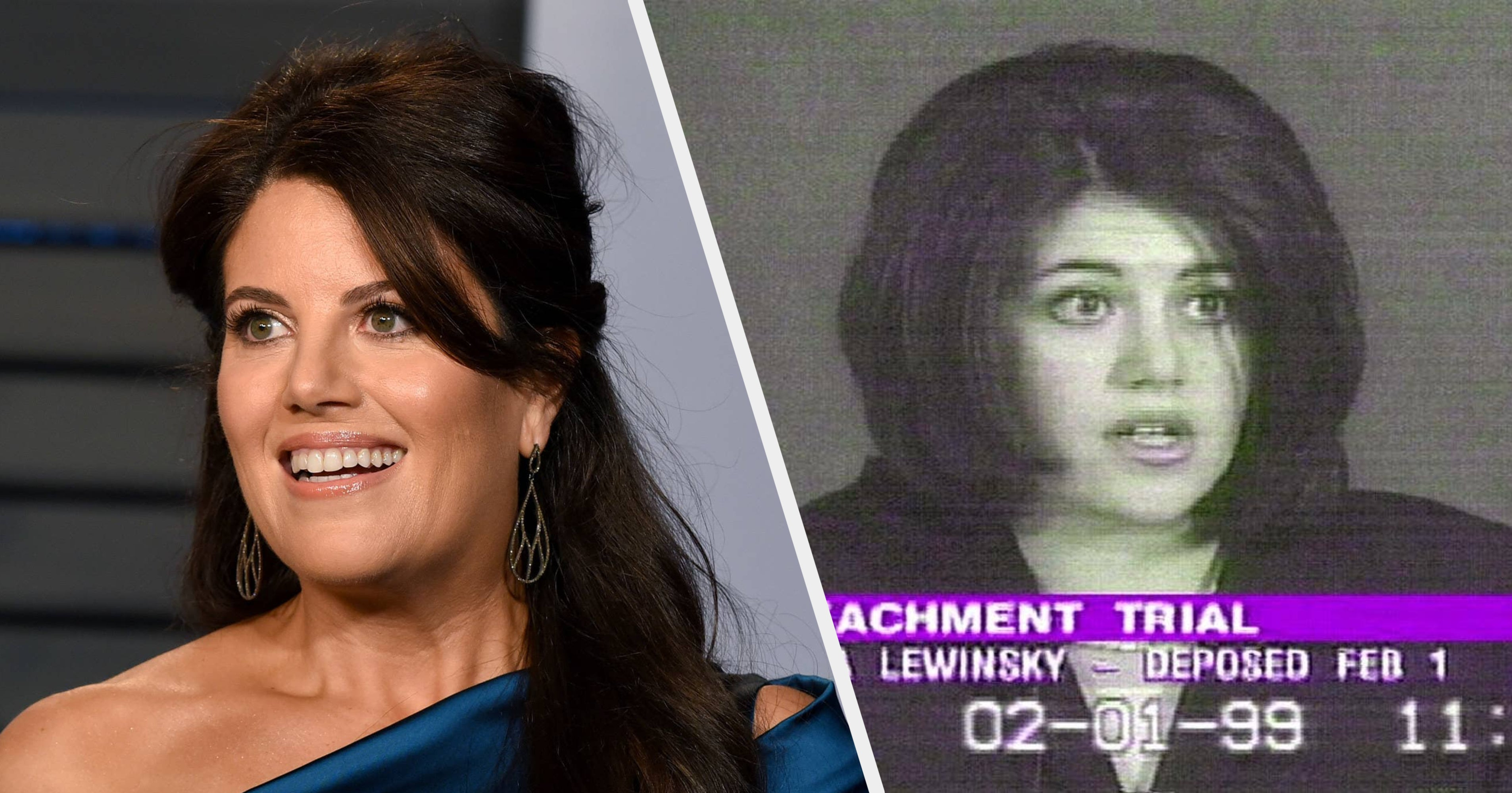 """Monica Lewinsky Hired A Therapist To Watch """"Impeachment"""" With Her In Order To Process The """"Retraumatizing"""" Scenes Retelling Her Affair With Bill Clinton"""