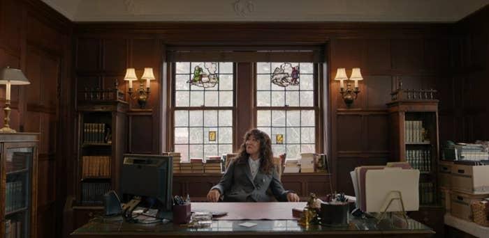 Ji Yoon in office