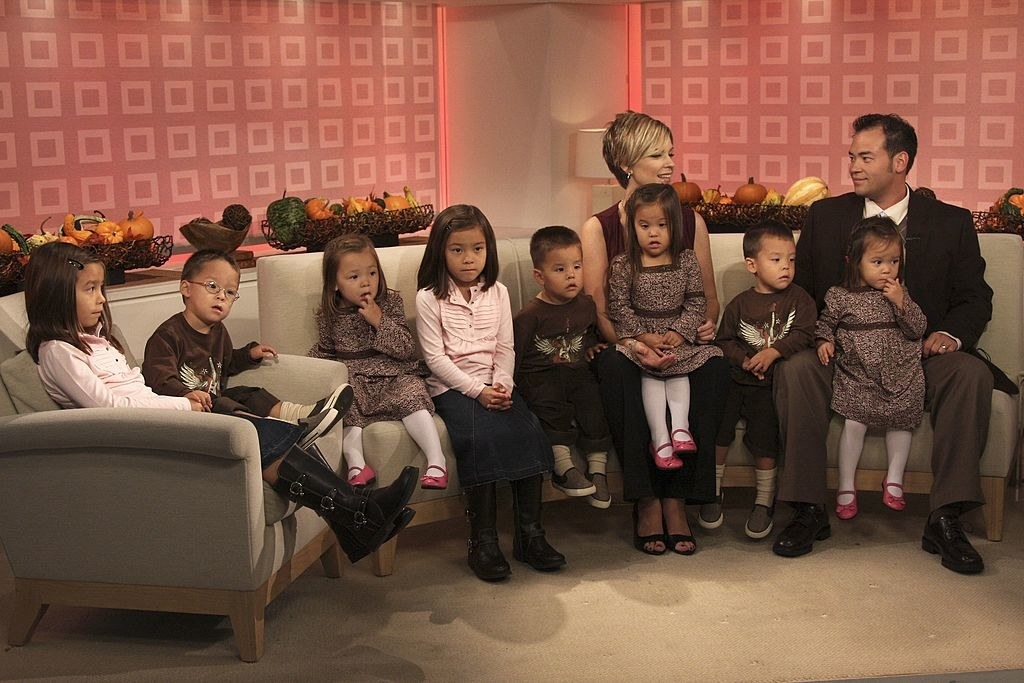 The family on a morning show