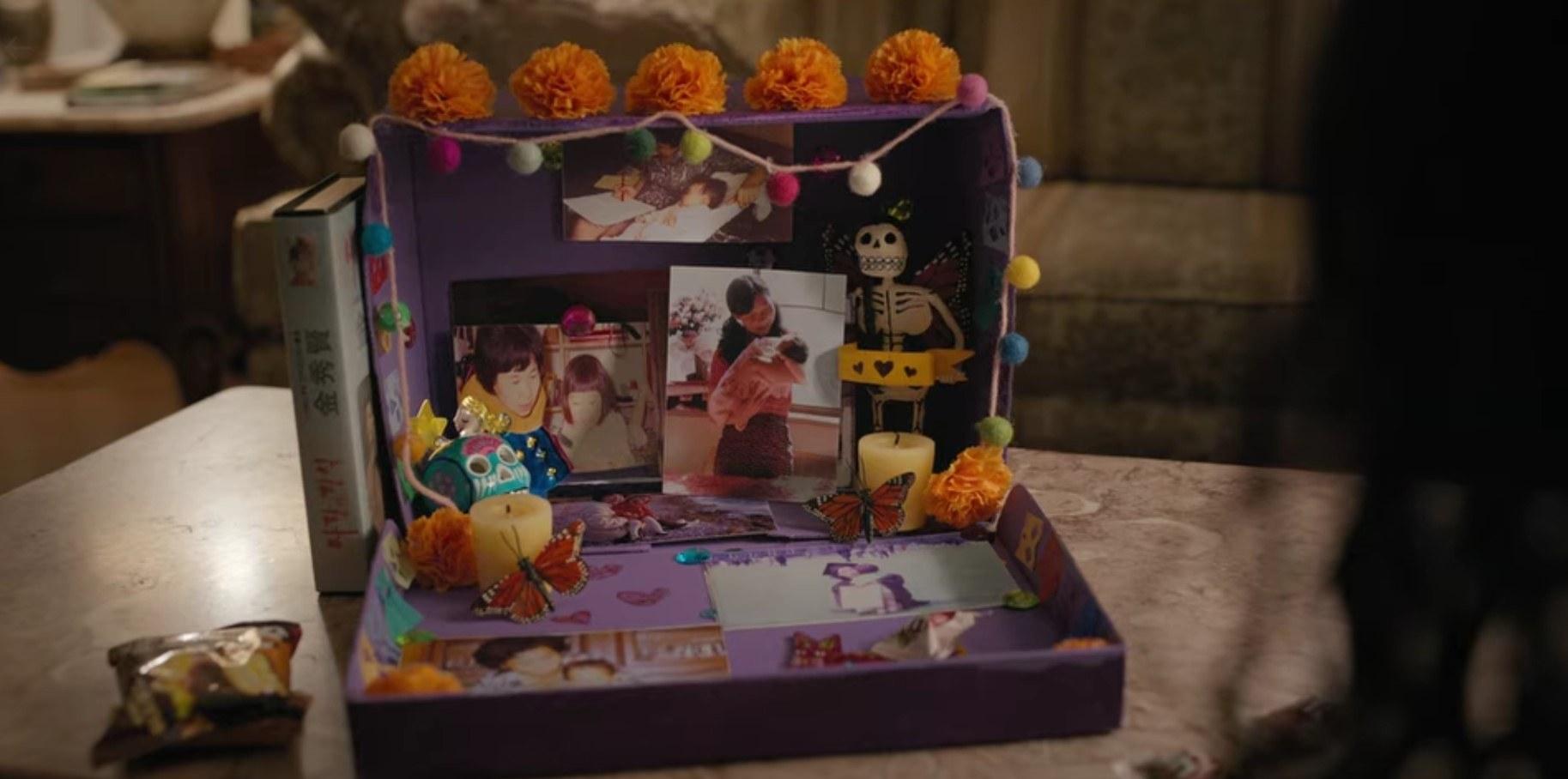 Altar for Ji-Yoon's mom