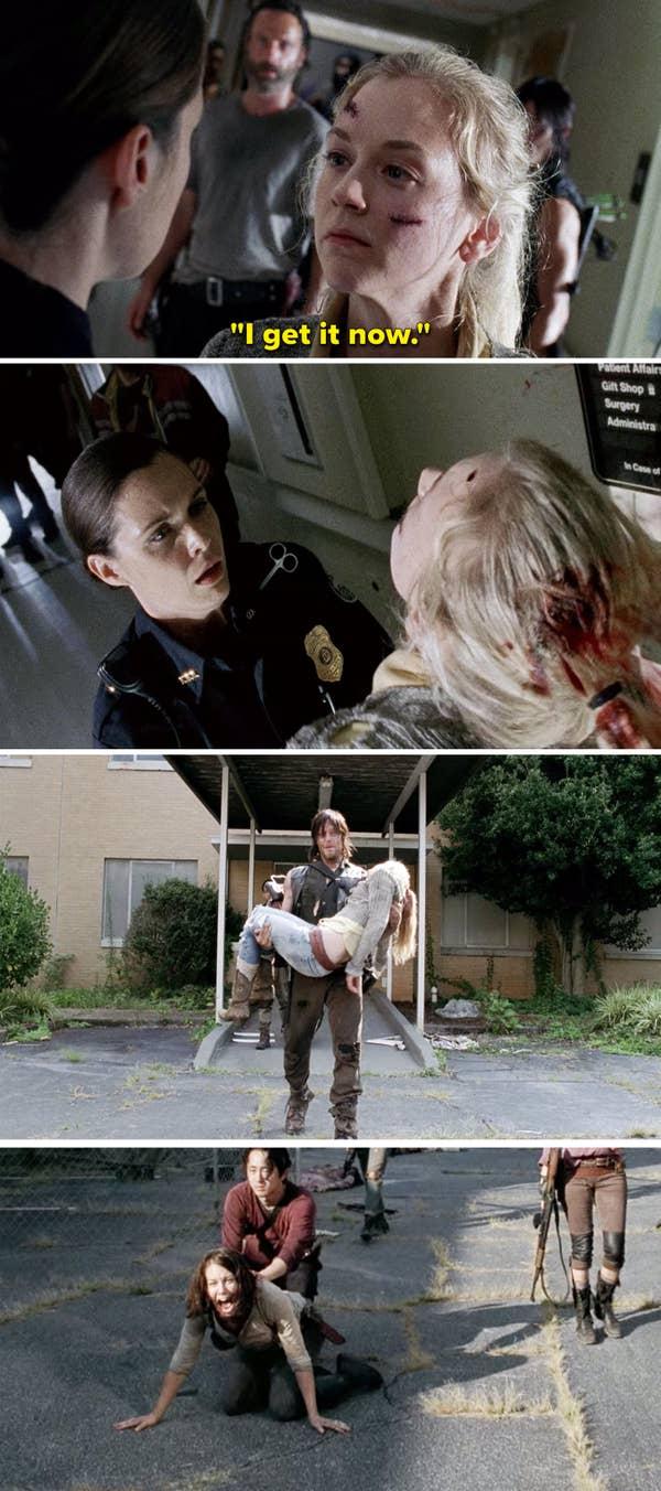 Beth Greene in The Walking Dead