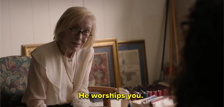 Joan says Bill worships Ji-Yoon