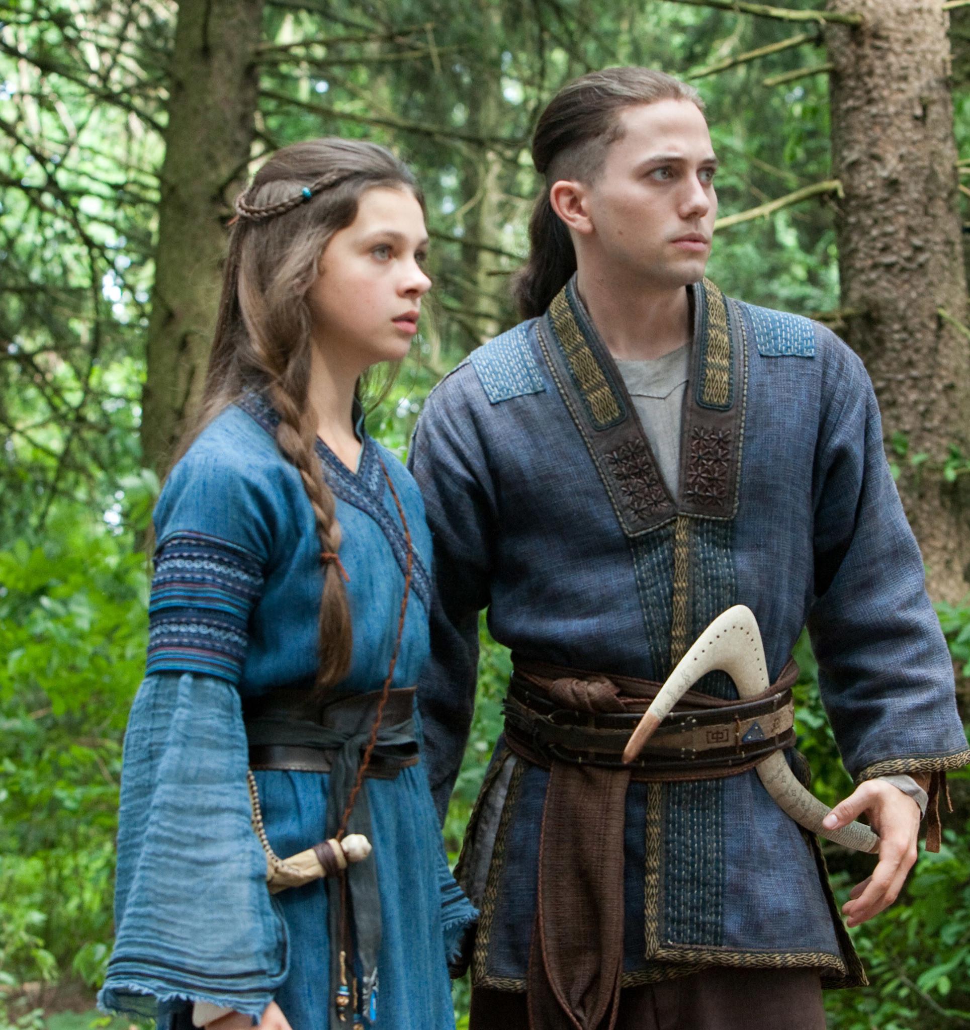 Sokka and Katara in the live action adaptation of Avatar the Last Airbender