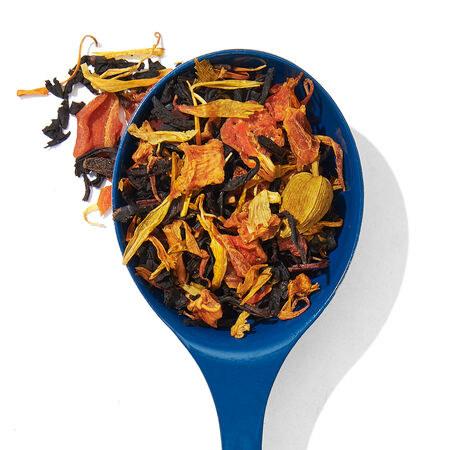 a spoonful of loose tea