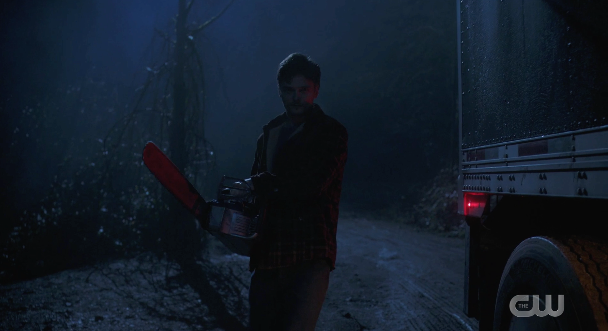 Guy with Chainsaw