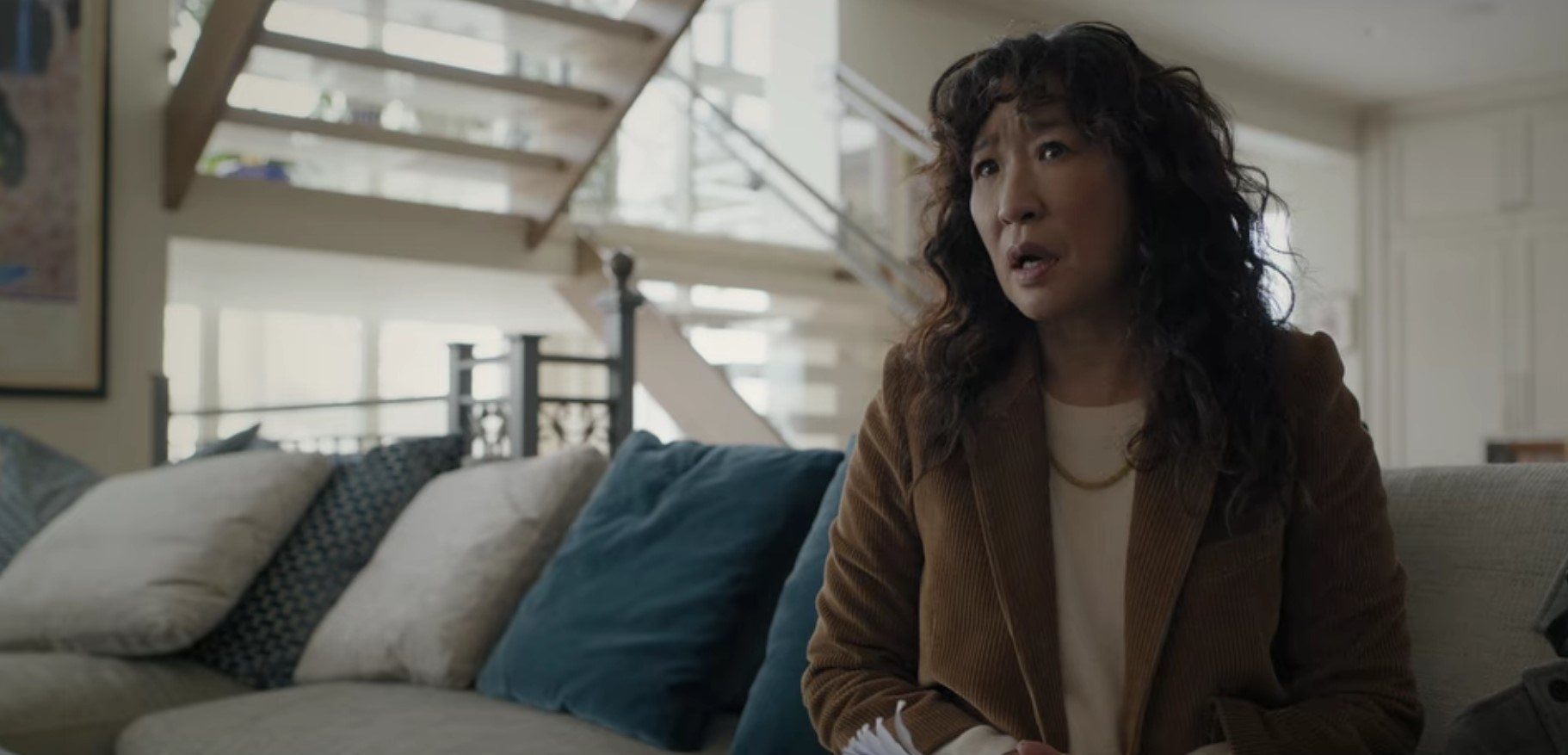 Ji-Yoon at David Duchovny's house