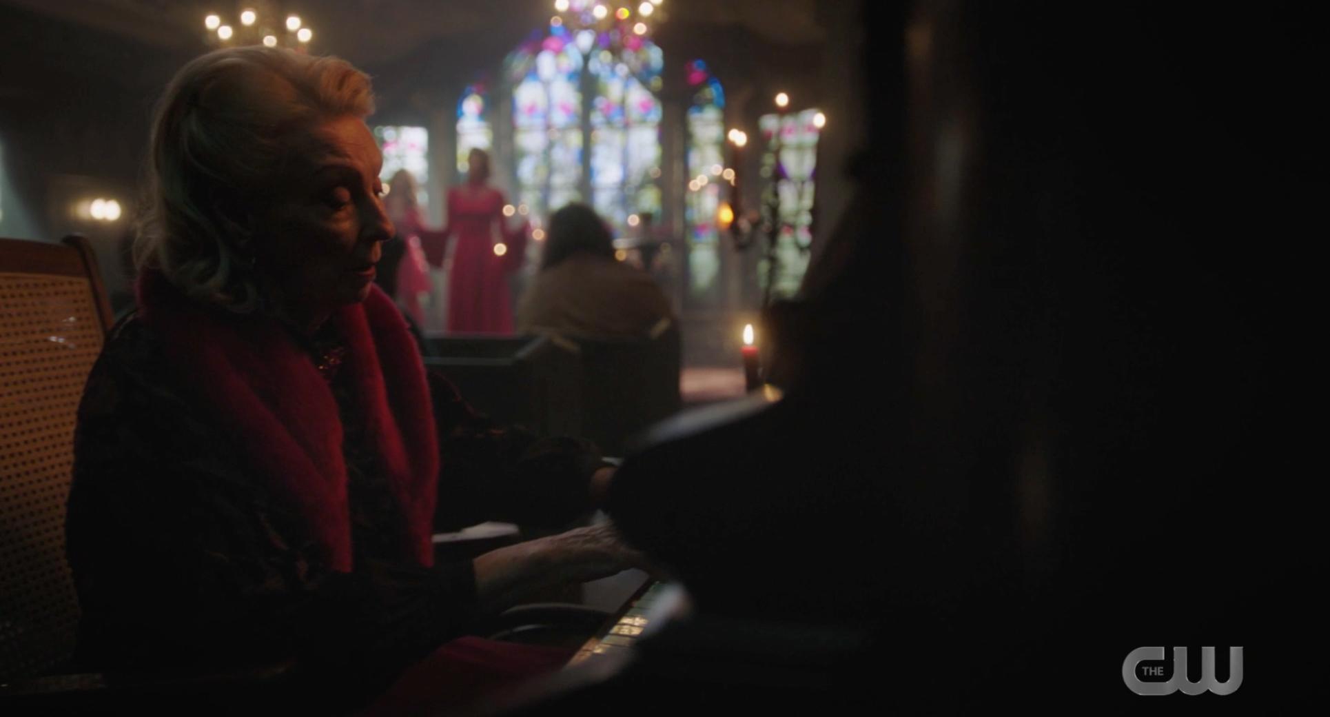 Nana rose playing piano