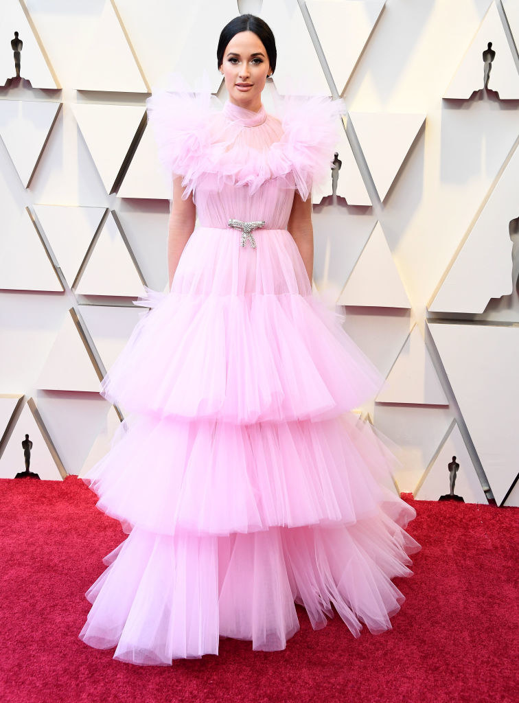 Kacey Musgraves arrives at the 91st Annual Academy Awards