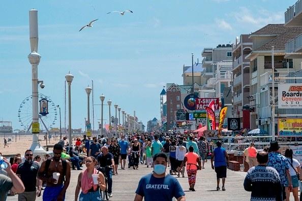 beachside boardwalk