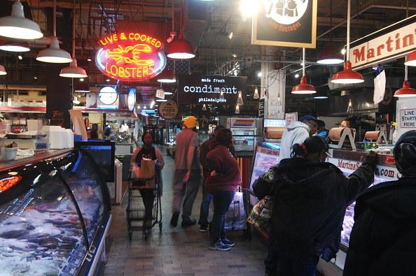 indoor food market